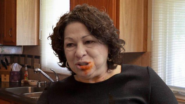 Sonia Sotomayor Dies Choking On Chicken Wing