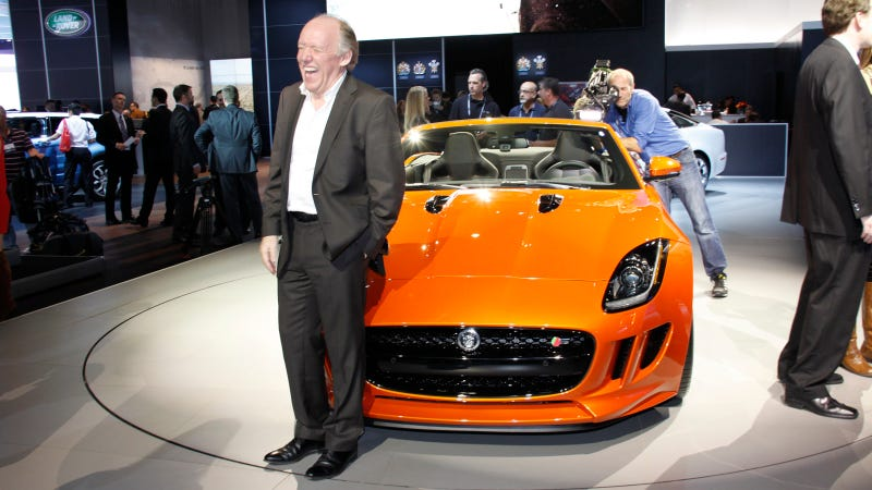 Illustration for article titled Why Is Jaguar Chief Designer Ian Callum Laughing Like A Madman?