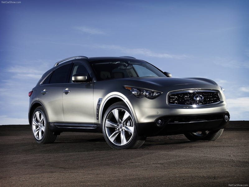 Illustration for article titled I was briefly tempted by an Infiniti FX50S until...