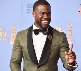 Kevin Hart at the 73rd annual Golden Globe Awards in Beverly Hills, Calif., Jan. 10, 2016Instagram