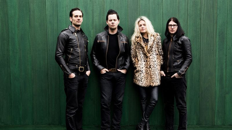 On Dodge And Burn, The Dead Weather spikes its darkness with a playful edge