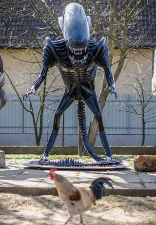 Illustration for article titled Ez az Alien biztos nálatok is feldobná a belső udvart