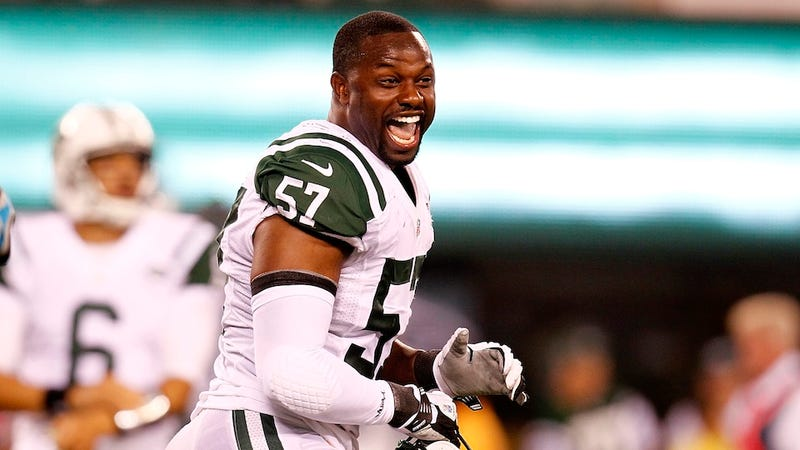 "Illustration for article titled Bart Scott Tells Jets Writer, ""I'll Smack The Shit Out Of You"""