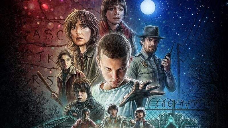 Illustration for article titled Stranger Things soundtrack finally gets a release date and track list, but no Toto