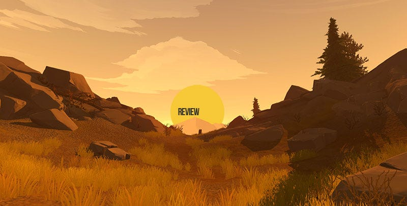 Illustration for article titled Firewatch: The Kotaku Review