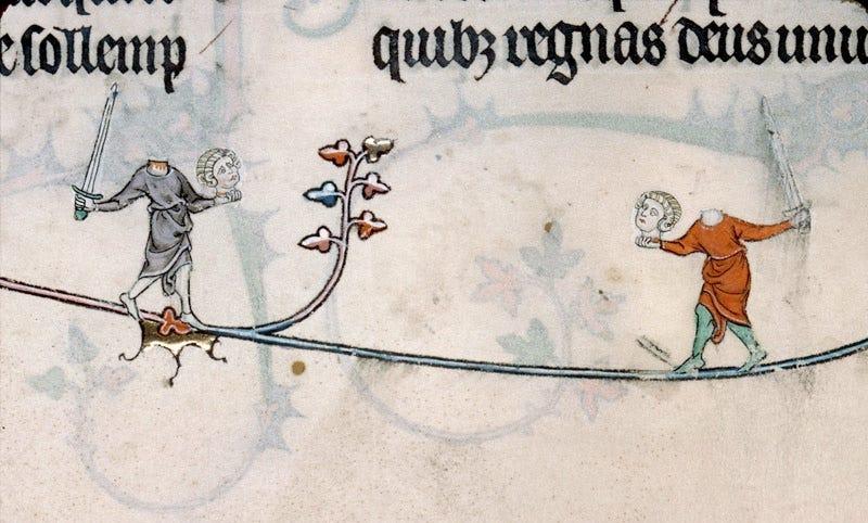 Image result for medieval manuscript marginalia