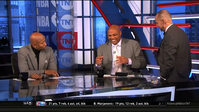 Charles Barkley Uses Inside The NBA To Debut His Jussie Smollett Material