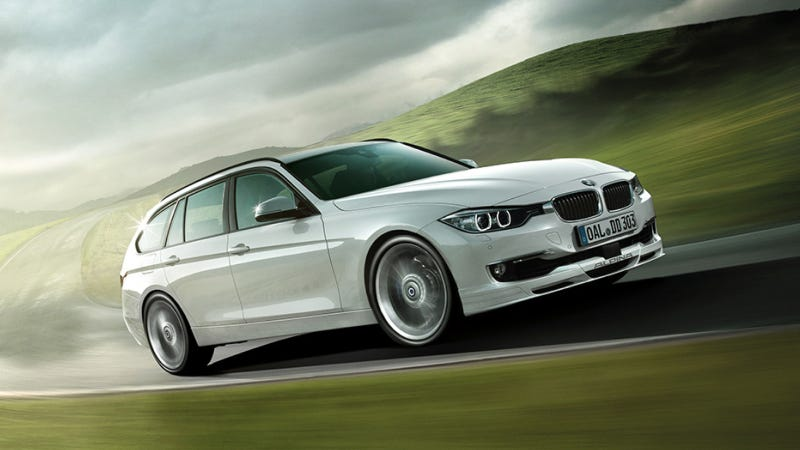Illustration for article titled The New Alpina D3 Bi-Turbo Is The Diesel Wagon Of Our Dreams