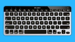 Illustration for article titled Logitech Easy-Switch Keyboard Pairs with Multiple Bluetooth Devices