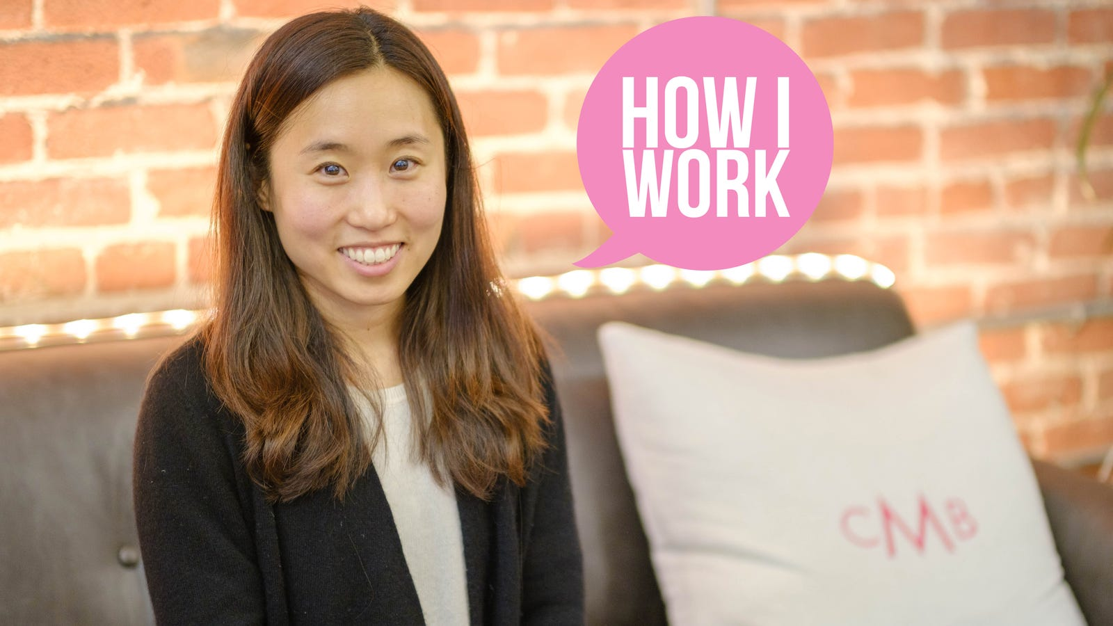 QnA VBage I'm Dawoon Kang, Founder of Coffee Meets Bagel, and This Is How I Work