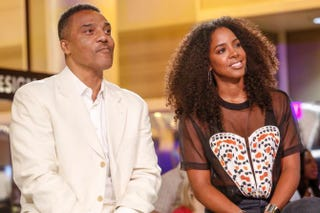Frank Gatson Jr. with Kelly Rowland at the 2015 Essence Festival in New Orleans July 4, 2015Skip Bolen/Getty Images
