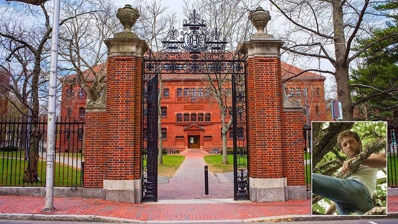 Harvard's campus.