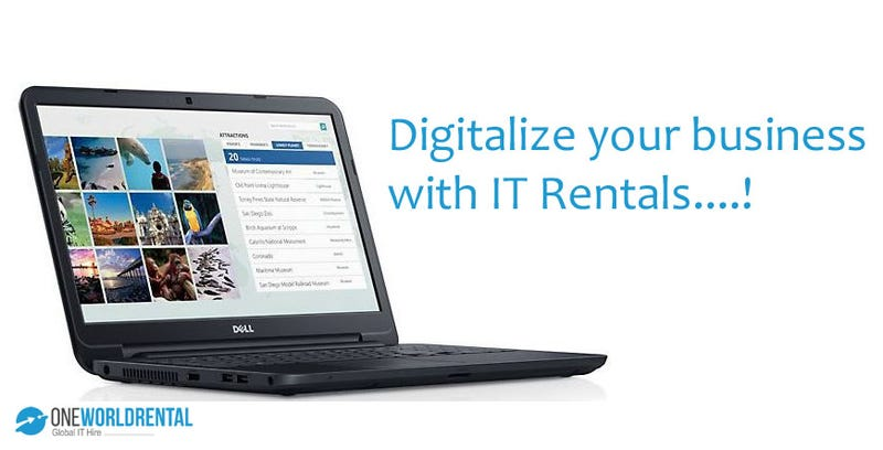 Illustration for article titled Digitalize your service with IT Rentals