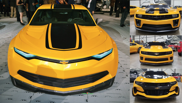 9e0f8e5a71 You Can Buy All Four Bumblebee Camaros From Transformers, but They're Not  Street Legal