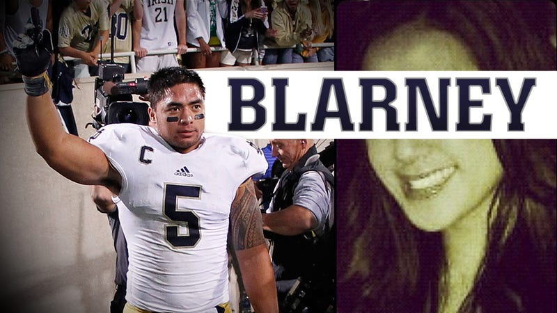 Illustration for article titled Manti Te'o's Dead Girlfriend, The Most Heartbreaking And Inspirational Story Of The College Football Season, Is A Hoax