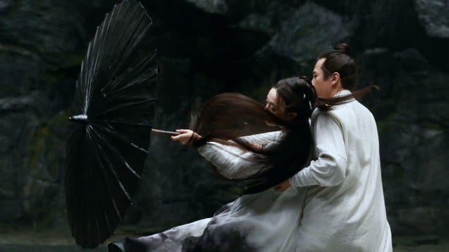 Hero director Zhang Yimou finds beauty in opposites in the visually stunning Shadow