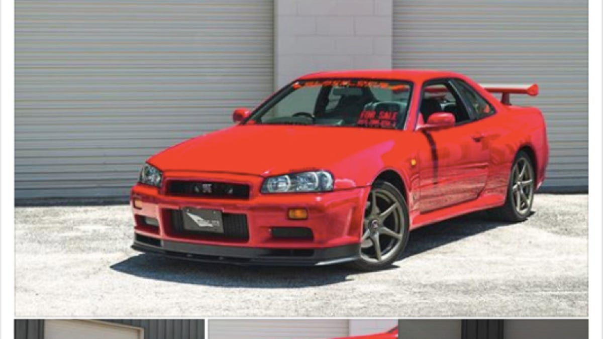 Cops Seize 130 000 Nissan Skyline Gt R At Florida Car Show And The