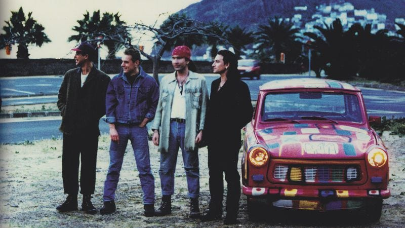 Illustration for article titled On its 25th anniversary, Achtung Baby remains U2's defining achievement