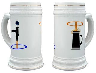 Illustration for article titled Get Your Portal Beer Stein