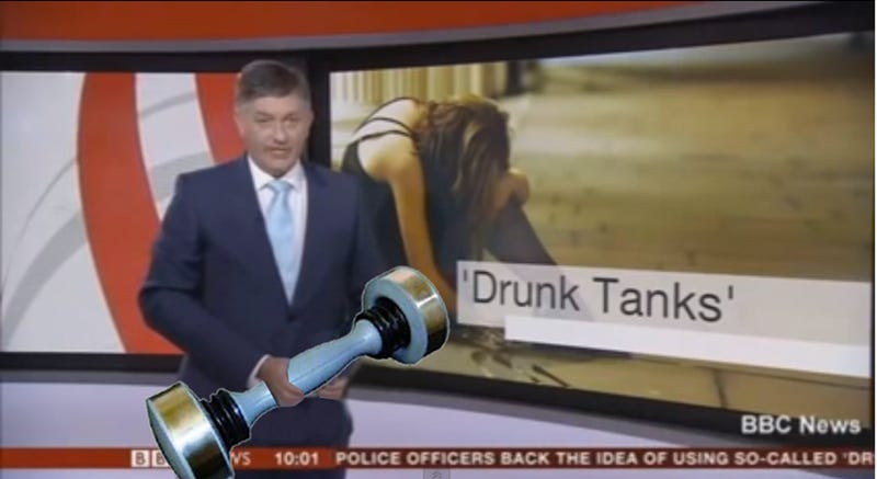 Illustration for article titled Photoshop Contest: Put Bizarre Crap in This News Anchor's Hands