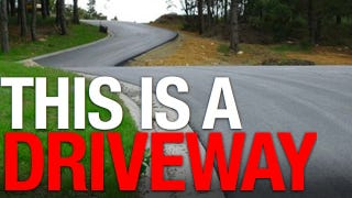 Illustration for article titled This is the world's greatest driveway