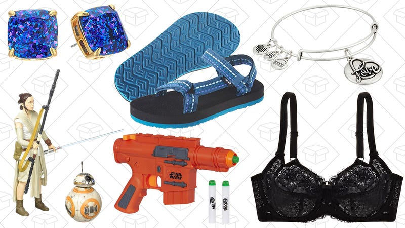 Illustration for article titled Today's Best Lifestyle Deals: Tevas, Journelle, Alex and Ani, Star Wars Toys, and More