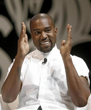 Kanye West at theCannes Lions Creativity ConferenceScreenshot Twitter