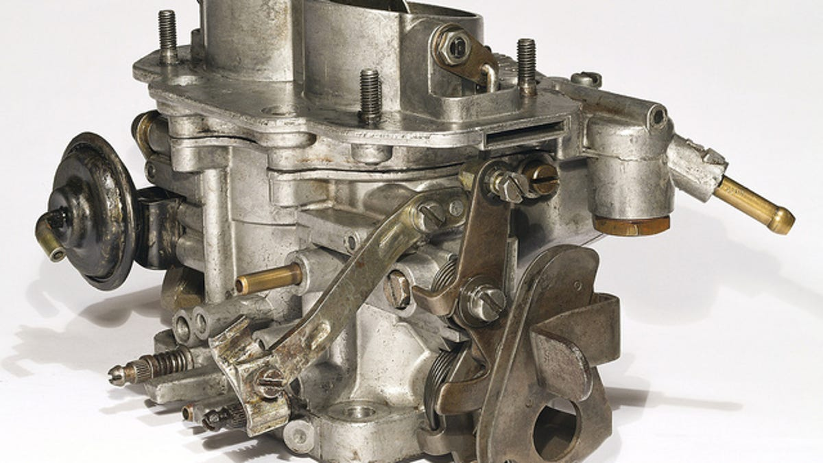 How A Carburetor Works Vauum Engine Choke Valve Diagram
