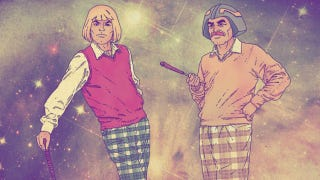Illustration for article titled Hipster He-Man and Other High-Fashion Cartoon Heroes
