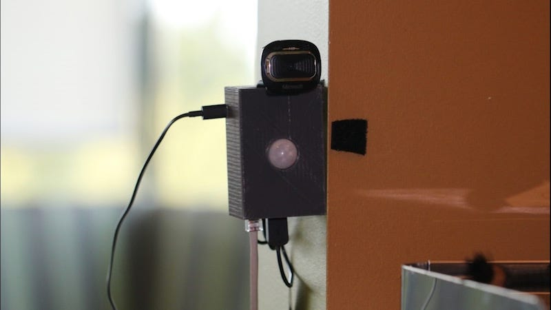Build a Motion Sensing Security Camera with a Raspberry Pi and