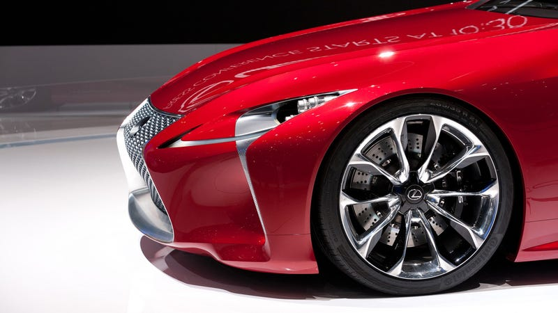 Illustration for article titled The Lexus LF-Lc Is Still A Tease