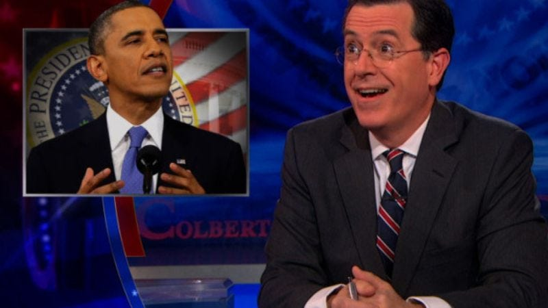 Illustration for article titled President Obama to be one of the final guests on The Colbert Report