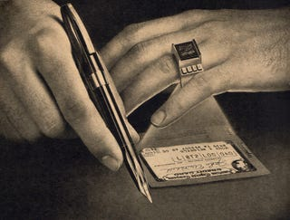 Illustration for article titled Credit Card Rings (1964)