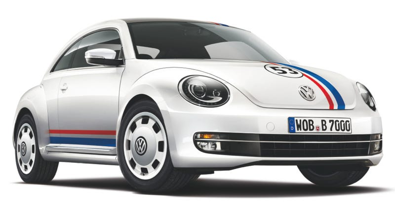 Illustration for article titled You Can Get A Herbie-Themed Volkswagen Beetle... If You Live In Spain