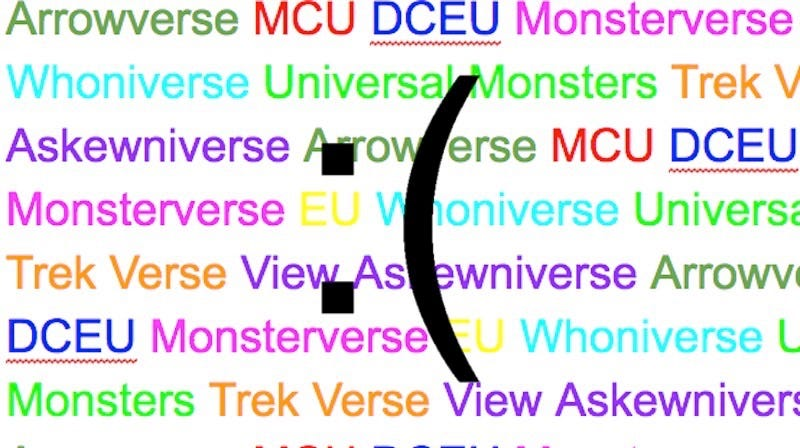 Illustration for article titled Why Does Every Shared Universe Have an Awful Name?