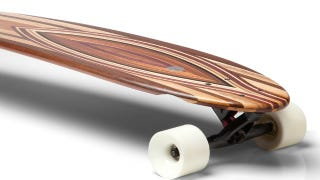 Illustration for article titled Loyal Dean Longboards Blur the Border Between Art and Transportation