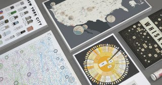 Illustration for article titled Get 15% Off Intricate Infographic Prints from Pop Chart Lab