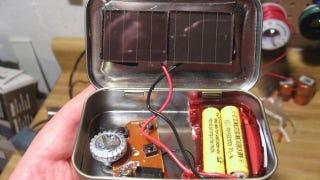 Illustration for article titled DIY Altoid-Tin Solar Radio for $3