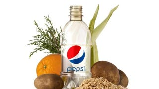 Illustration for article titled Behold Pepsi's 100% Plant-Based Plastic Bottle