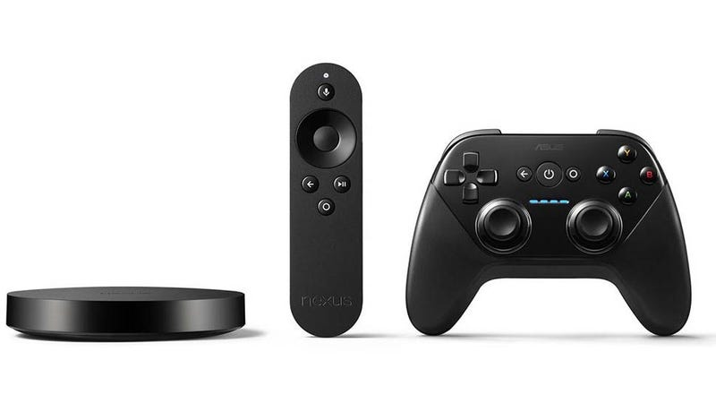 Google's Nexus Player from 2014 was the company's most recent attempt to do anything that approached a home gaming console. (Image: Google