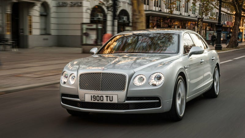 Illustration for article titled You Can Now Get A Bentley Flying Spur With Only Eight Cylinders
