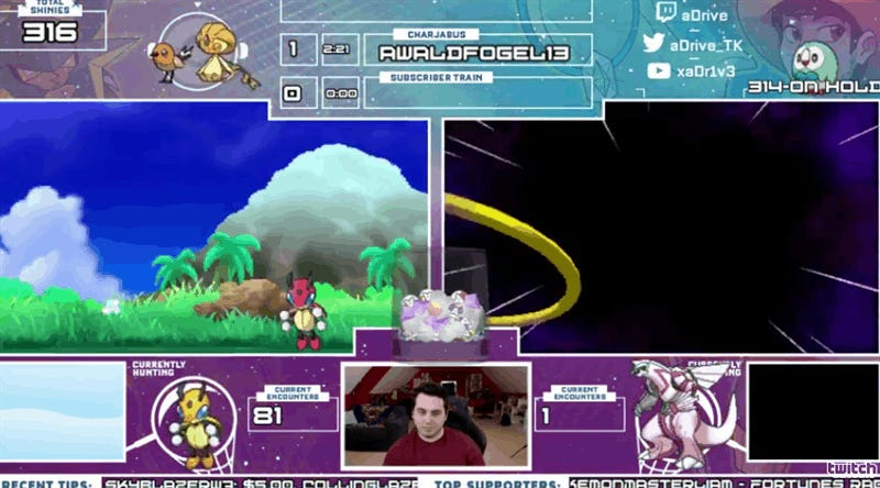 Pokémon Hunter Gets Rare Shiny On First Try, Freaks The Hell Out