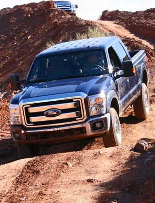 Illustration for article titled 2011 Ford F-Series Super Duty: First Drive