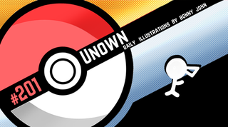 Illustration for article titled 50 Straight Illustrations!  Unown, Pokemon One a Day! +Announcement!