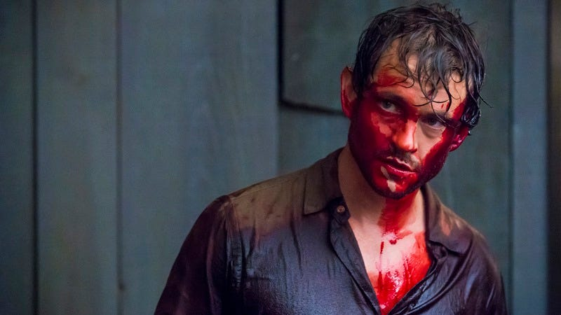 Hugh Dancy, in a convenient illustration of his show's cancellation.
