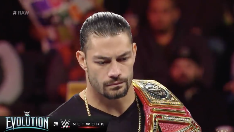 Illustration for article titled Roman Reigns Announces Leukemia Diagnosis On WWE Raw, Relinquishes Universal Championship