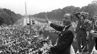 Martin Luther King Jr., Aug. 28, 1963, during the March on WashingtonAFP/Getty Images