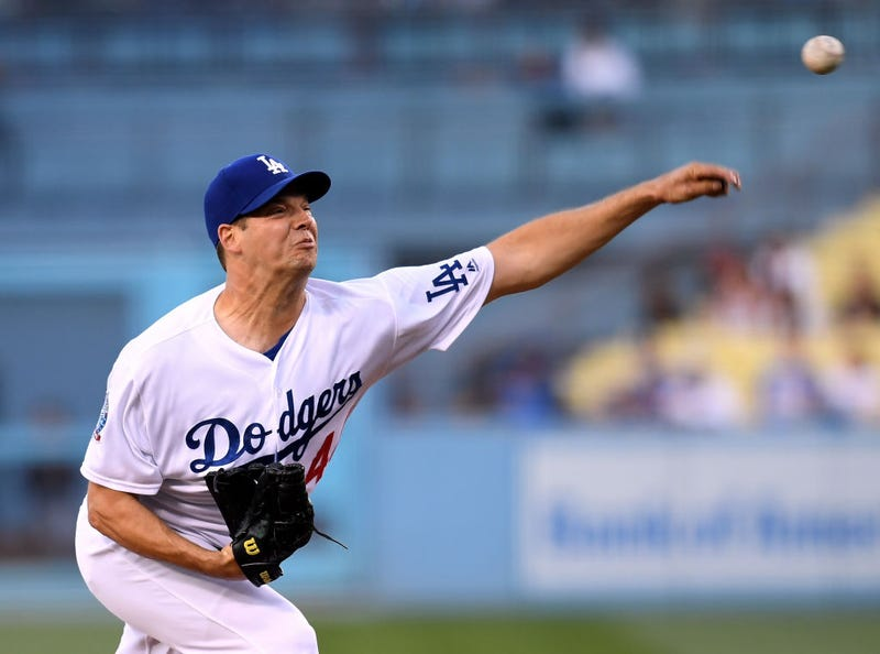 Illustration for article titled Rich Hill Wants To Pitch With Tape On His Finger So He Doesn't Have To Pee On It