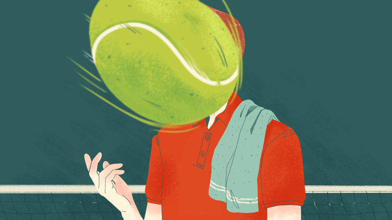 """Illustration for article titled """"He Would Have Mounds Of Towels"""": A U.S. Open Ball Person Dishes On The Nicest Players And Oddest Habits"""