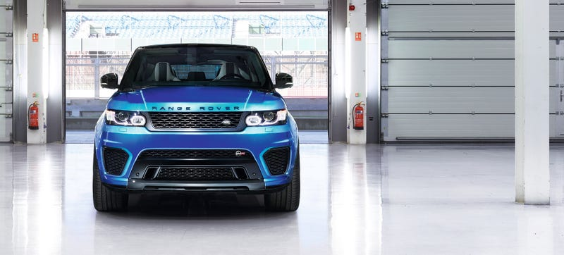 Illustration for article titled SVO's Range Rover Sport SVR Is All About The Loud Button